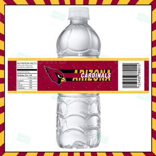 Arizona Cardinals - Bottle Label - Product 1