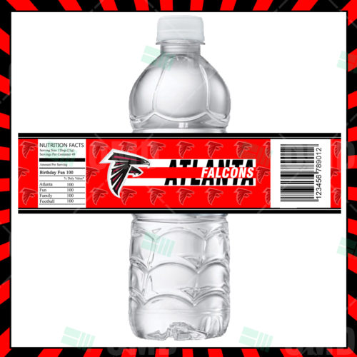Atlanta Falcons  - Bottle Label - 1 - Product 1