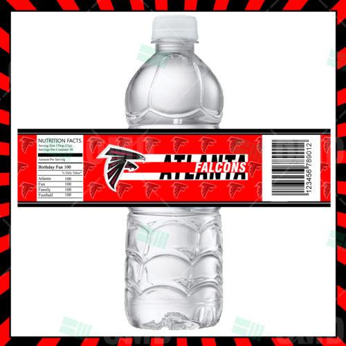 Atlanta Falcons  - Bottle Label - 1 - Product 1