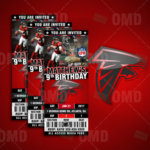 Atlanta Falcons - Invite 2 - Product 1