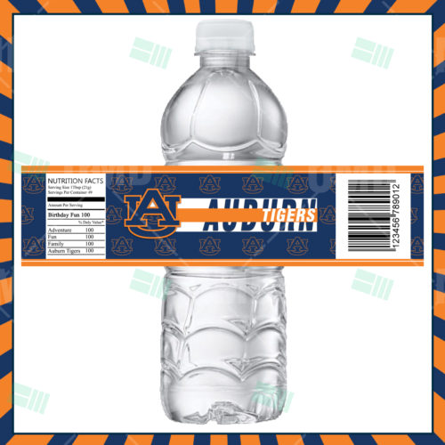 Auburn Tigers - Bottle Label - Product 1
