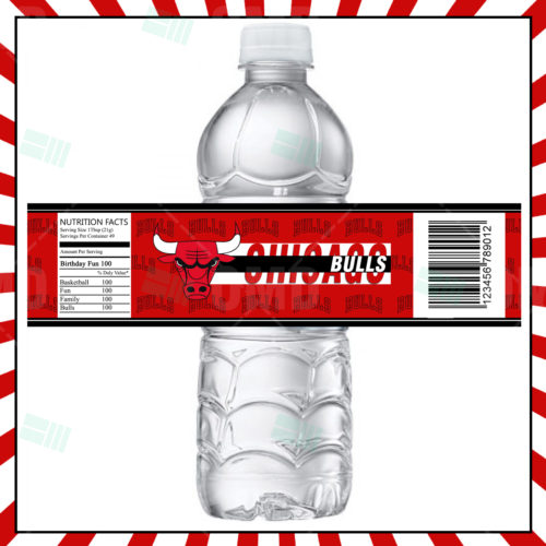 Chicago Bulls - Bottle Label - 1 - Product 1