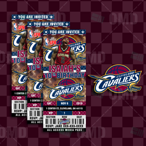 Cleveland Cavaliers - Invite 3 - Product 1-1