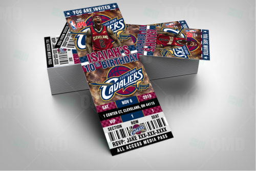 Cleveland Cavaliers - Invite 3 - Product 2-1