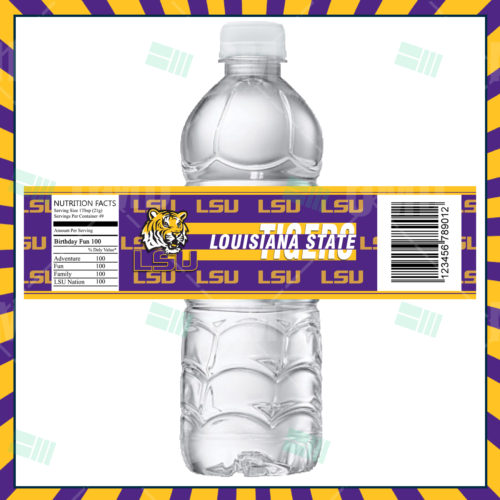 LSU Tigers - Bottle Label - Product 1