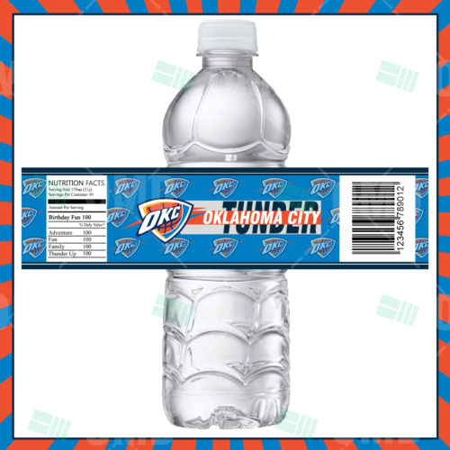 OklahomaCityThunder-Bottle Label-Product1