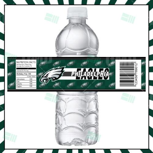 Philadelphia Eagles - Bottle Label - Product 1