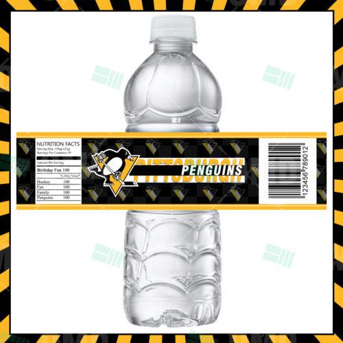 Pittsburgh Penguins - Bottle Label - 1 - Product 1