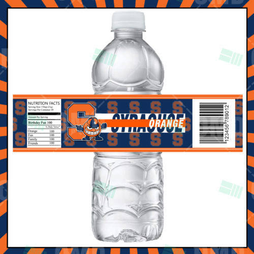 Syracuse Orange - Bottle Label - Product 1