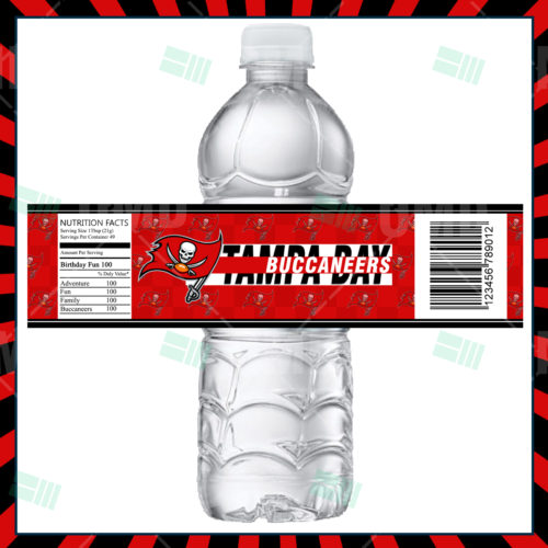 Tampa Bay Buccaneers - Bottle Label - Product 1