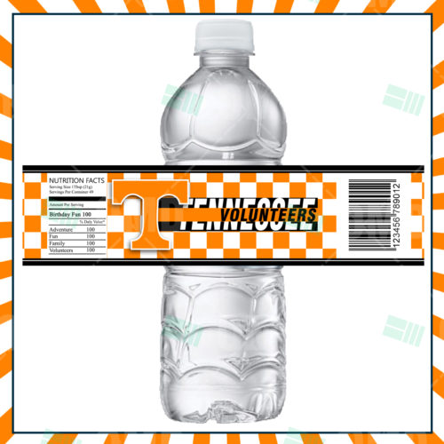 Tennessee Volunteers - Bottle Label - Product 1