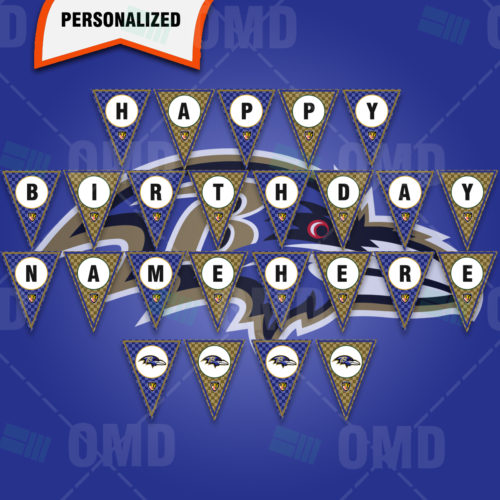 Baltimore Ravens - Banner Design - Product 1