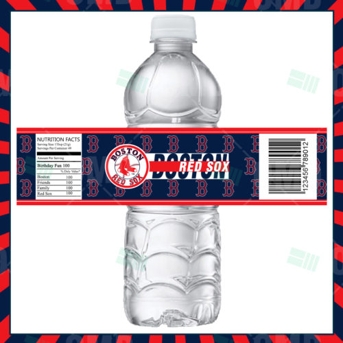 Boston Red Sox - Bottle Label - 1 - Product 1