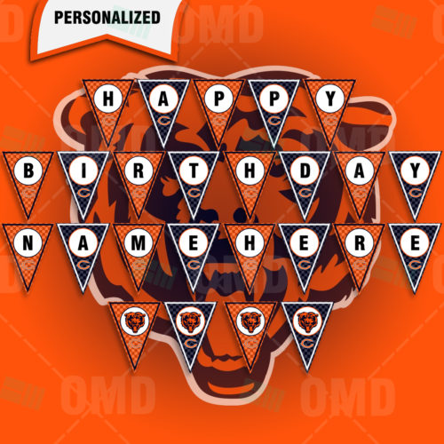Chicago Bears - Banner Design - Product 1