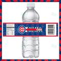 Chicago Cubs - Bottle Label - 1 - Product 1