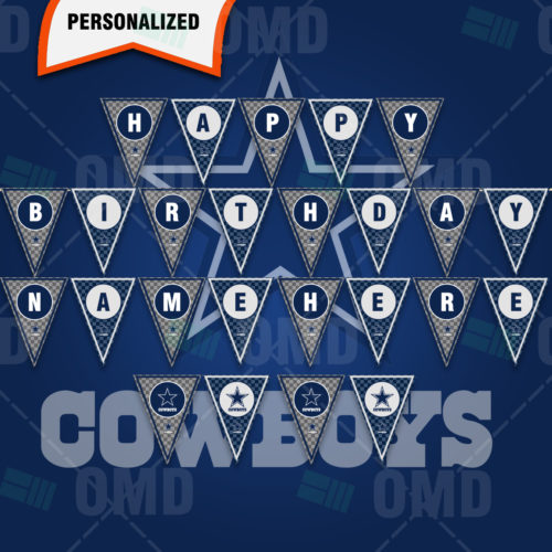 Dallas Cowboys - Banner Design - Product 1