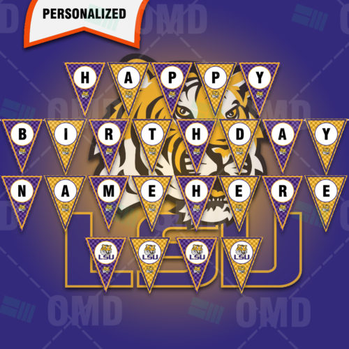LSU Tigers - Banner Design - Product 1