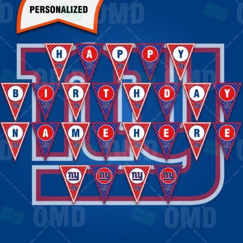 New York Giants - Banner Design - Product 1