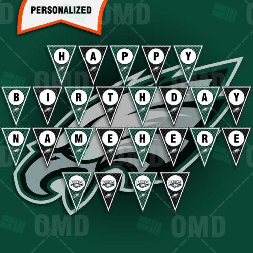 Philadelphia Eagles - Banner Design - Product 1