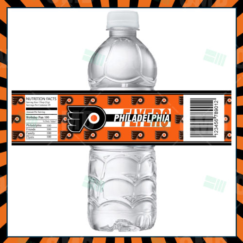 Philadelphia Flyers - Bottle Label - 1 - Product 1