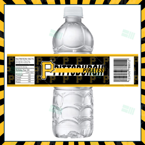 Pittsburgh Pirates - Bottle Label - 1 - Product 1