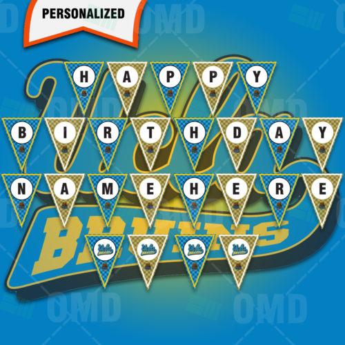 UCLA Bruins - Banner Design - Product 1
