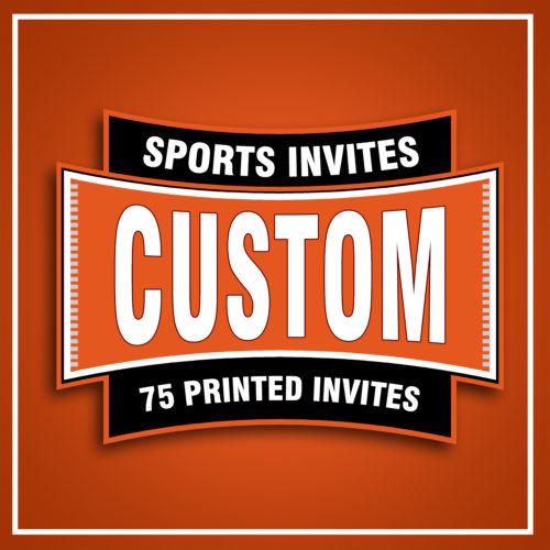 75 - Printed Invites