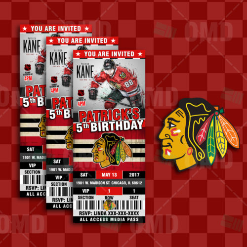Chicago Blackhawks - Invite 2 - Product 1