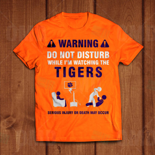 Clemson Tigers - T-Shirt Design 1