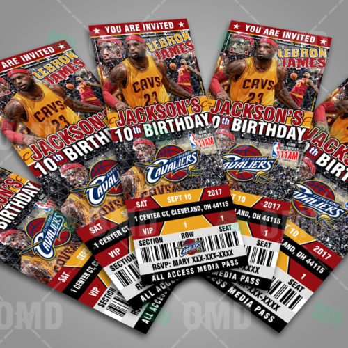 Cleveland Cavaliers - Invite 5 - Product 3