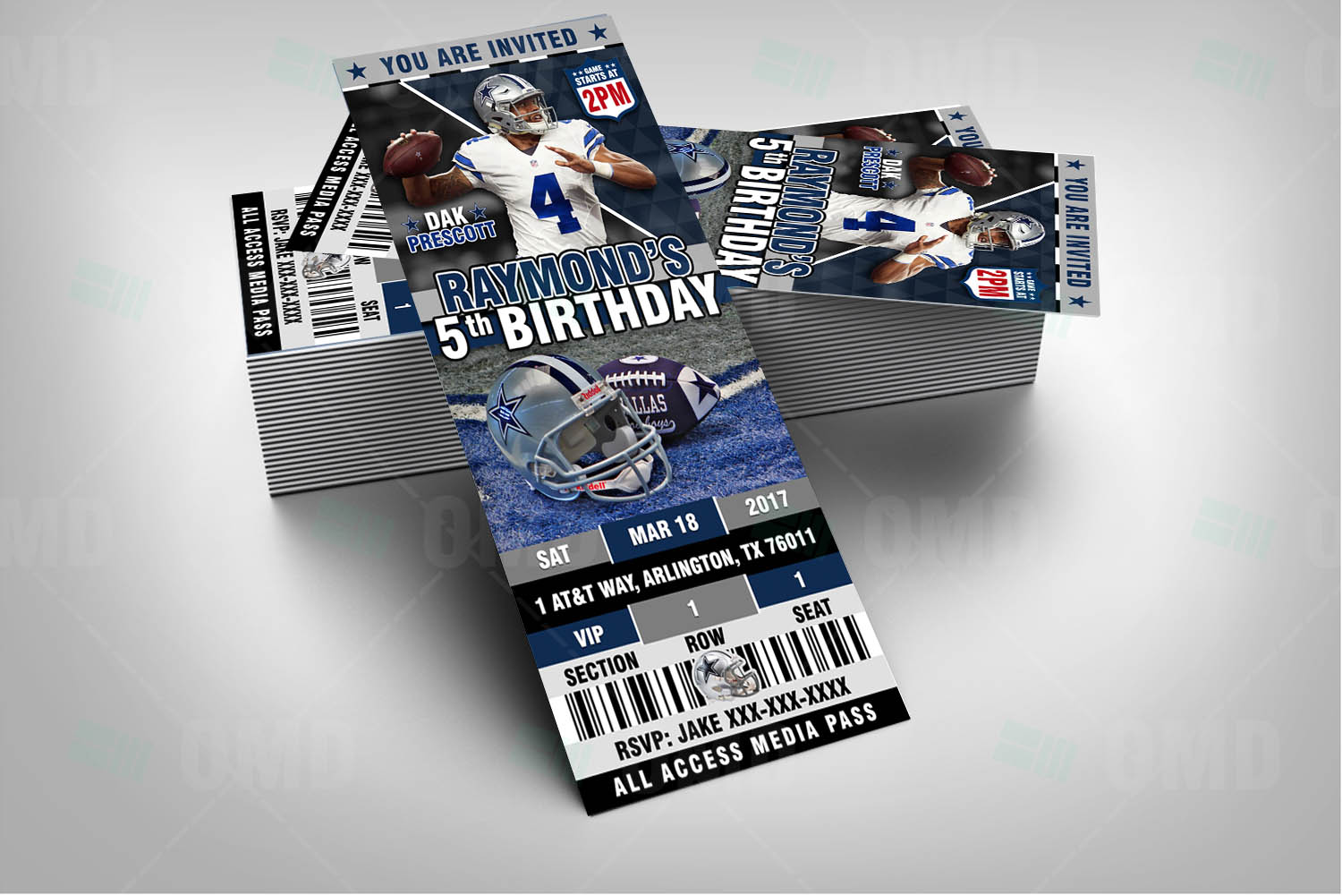 sports invites  dallas cowboys invites ticket style sports party, Baby shower