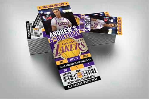 LA Lakers - Invite 4 - Product 2