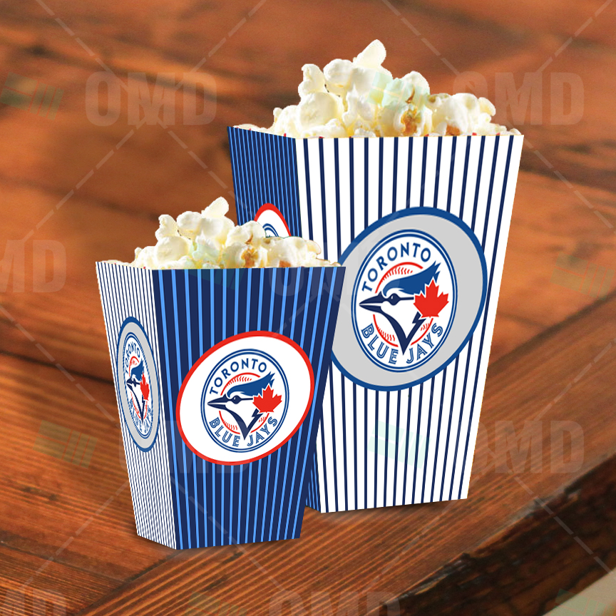 Blue Popcorn Box | www.pixshark.com - Images Galleries ...