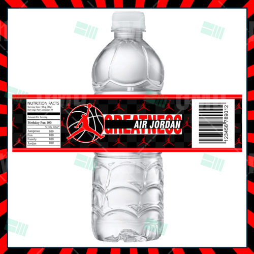 Air Jordan - Bottle Label - Product 1