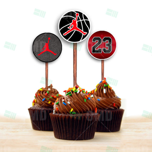 Air Jordan - Cupcake Toppers - Product 1