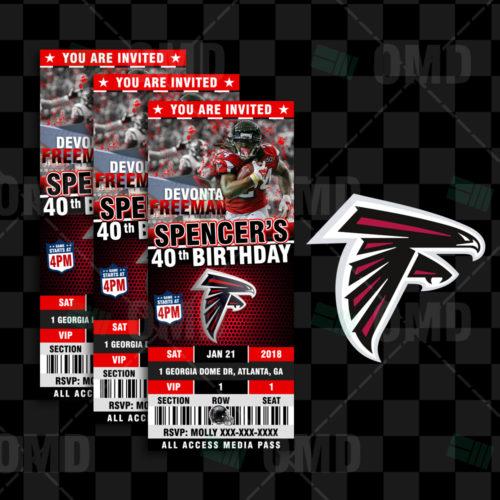 Atlanta Falcons - Invite 3 - Product 1
