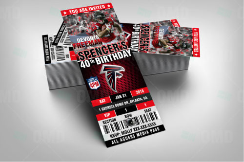Atlanta Falcons - Invite 3 - Product 2