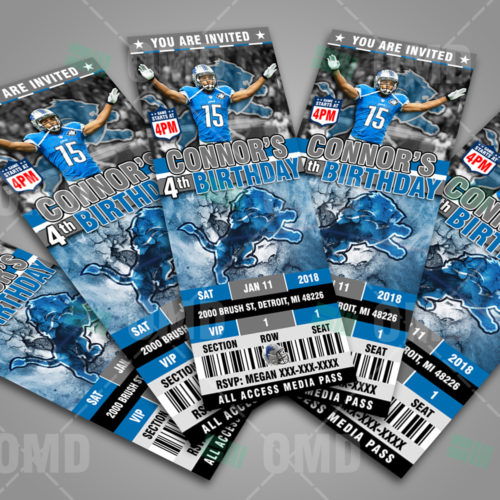 Detroit Lions - Invite 2 - Product 3