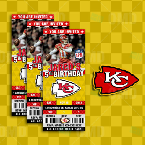 Kansas City Chiefs - Invite 2 - Product 1