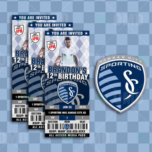 Sporting Kansas City - Invite 1 - Product 1