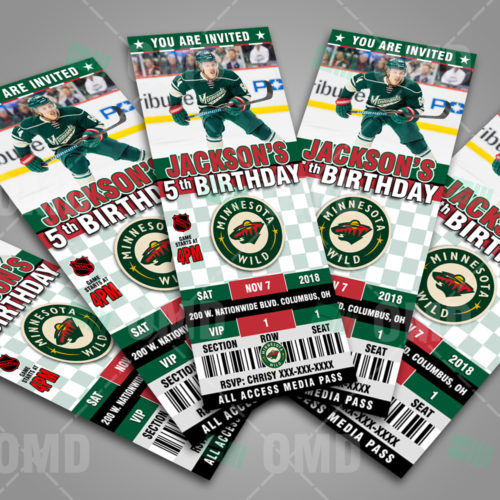 Minnesota Wild - Invite 2 - Product 3