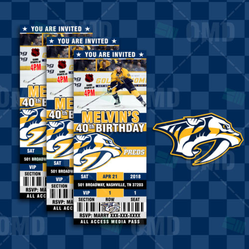 Nashville Predators - Invite 2 - Product 1