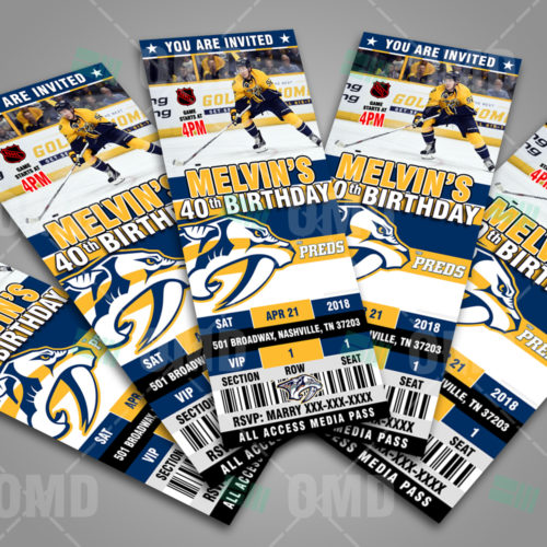 Nashville Predators - Invite 2 - Product 3