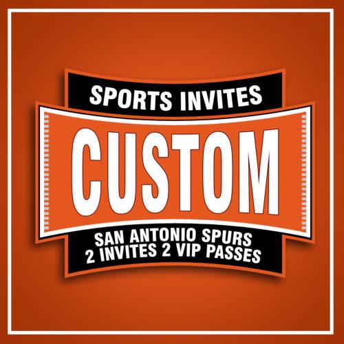 Spurs Custom 1