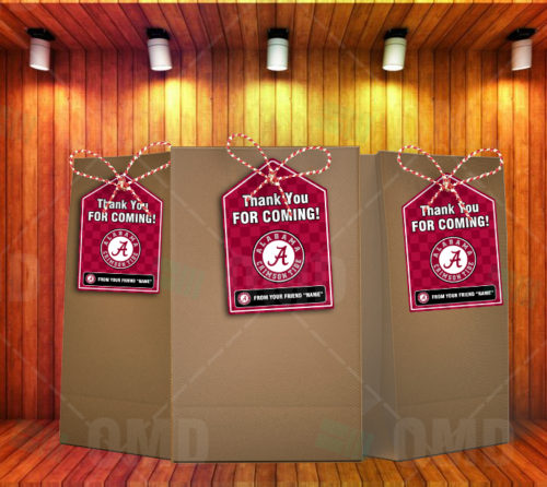 Alabama Crimson Tide - Bag Tags - Product 1