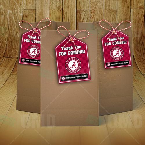 Alabama Crimson Tide - Bag Tags - Product 2