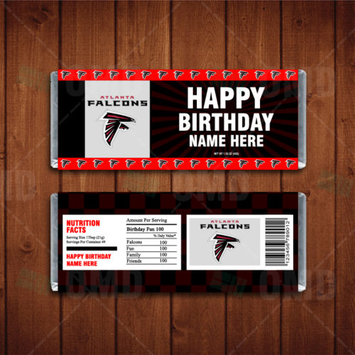 Atlanta Falcons - Candy Bar 1 - Product 1