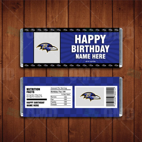 Baltimore Ravens - Candy Bar 1 - Product 1