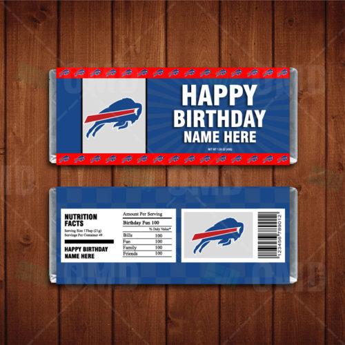 Buffalo Bills - Candy Bar 1 - Product 1