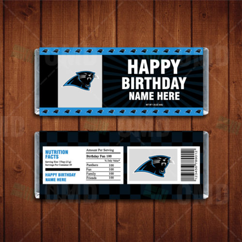 Carolina Panthers - Candy Bar 1 - Product 1
